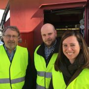The rail-team of DFDS Norway visiting CargoNet