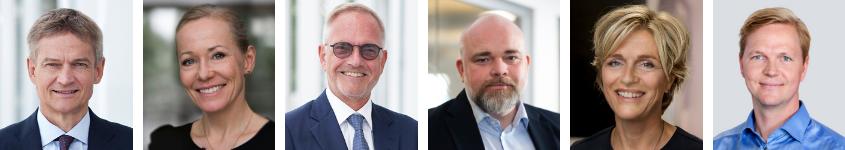 DFDS' koncernledelse 2020